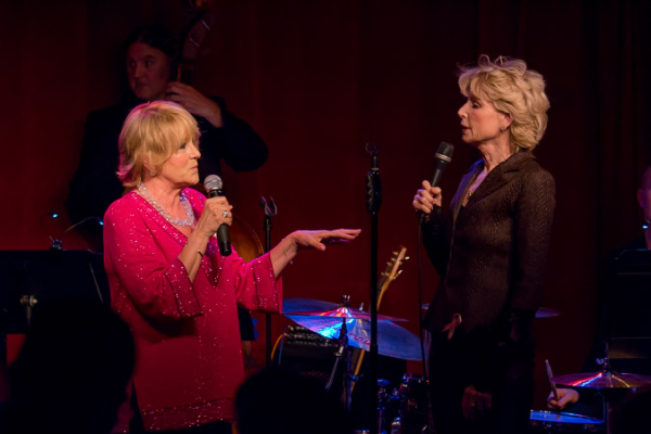 <p>Survivors Lorna Luft and Marcia Strassman perform &quot&#x3B;Bosom Buddies.&quot&#x3B;</p><br />(©Seth Walters)