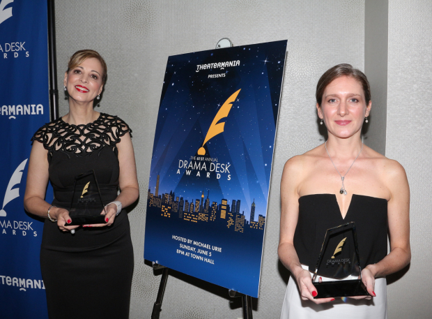 <p>Susan Lee and Melissa Caolo of Special Award winner Camp Broadway.</p><br />(© David Gordon)