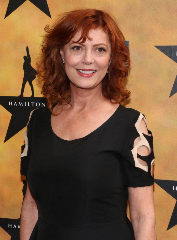 <p>Susan Sarandon poses for the plethora of photographers before the show begins.</p><br />(© David Gordon)