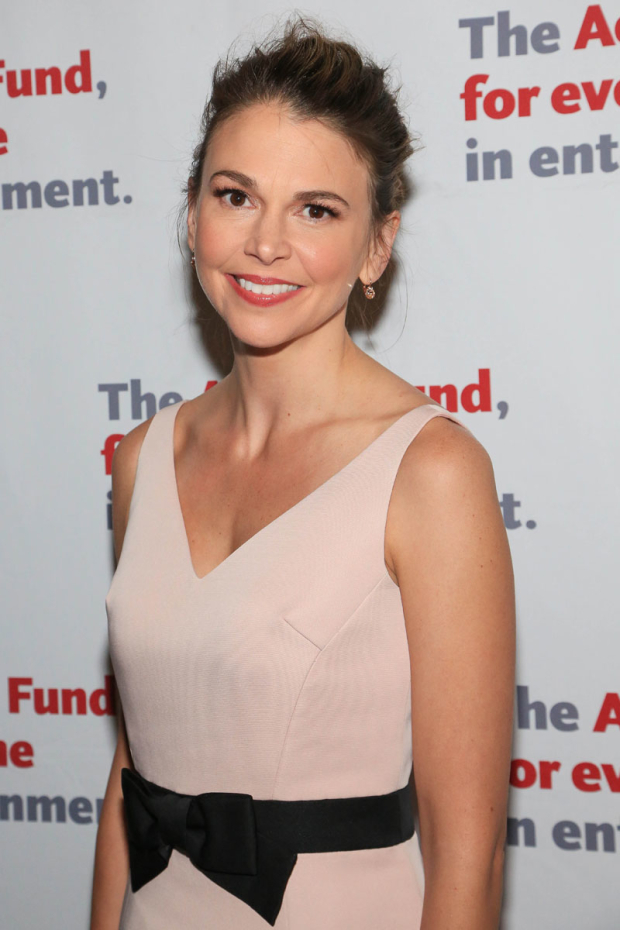 <p>Sutton Foster returned to the role that won her her first Tony.</p><br />(© Tricia Baron)