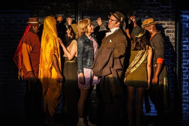<p><em>Sweet Charity</em> will run through January 8 at the Pershing Square Signature Center.</p><br />(© Monique Carboni)
