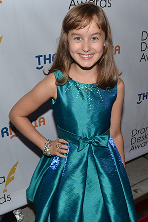 <p>Sydney Lucas — Outstanding Featured Actress in a Musical nominee for <em>Fun Home</em>.</p><br />(© David Gordon)