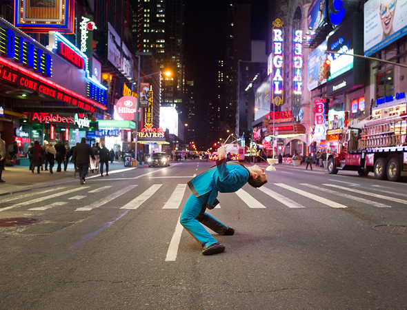 <p>Taking over 42nd Street.</p><br />(© Jordan Matter)