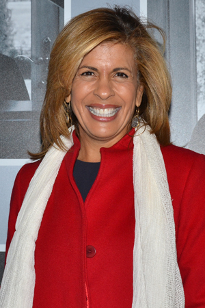 <p>Talk-show host Hoda Kotb is excited for a night out at a Broadway show.</p><br />(© David Gordon)