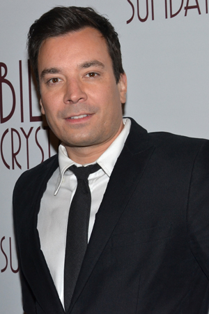 <p>Talk show host Jimmy Fallon is one of Billy Crystal&#39&#x3B;s biggest fans.</p><br />(© David Gordon)