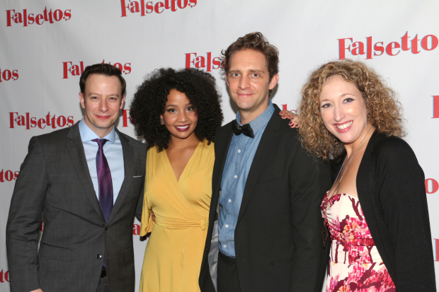 <p>Tally Sessions, Stephanie Umoh, Colin Hanlon, and Courtney Balan are the production&#39&#x3B;s understudies.</p><br />(© David Gordon)