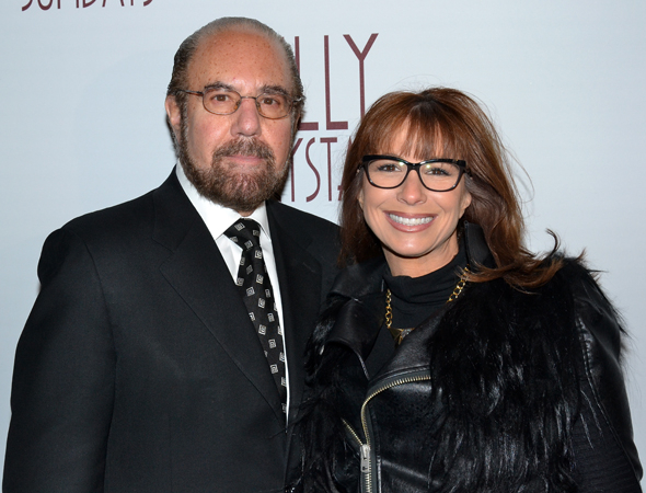 <p>Television personalities Bobby and Jill Zarin spend an evening at the theater.</p><br />(© David Gordon)