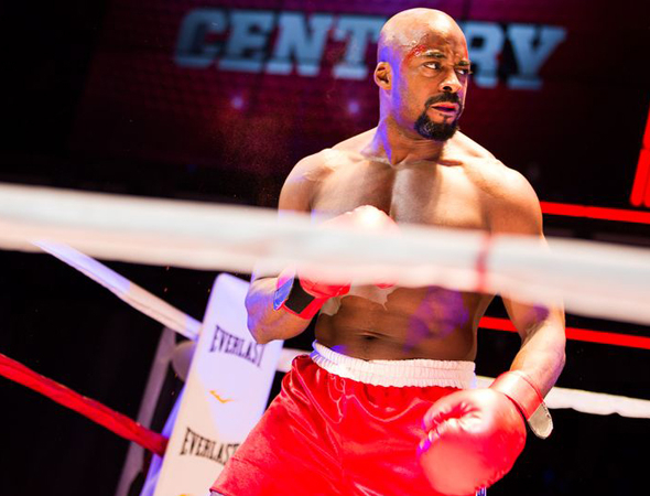 <p>Terence Archie takes on the role of Apollo Creed.</p><br />(© Matthew Murphy)