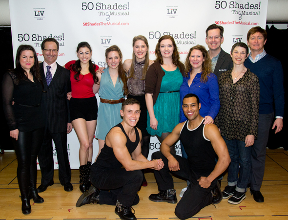 <p>The <em>50 Shades! The Musical</em> family.</p><br />(© David Gordon)