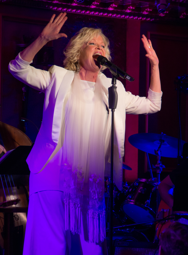 <p>The &quot&#x3B;Big Noise From Winnetka&quot&#x3B; herself, Christine Ebersole. </p><br />(© Seth Walters)