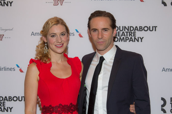 <p>The beautiful Charlotte Parry and the dashing Alessandro Nivola.</p><br />(© Seth Walters)
