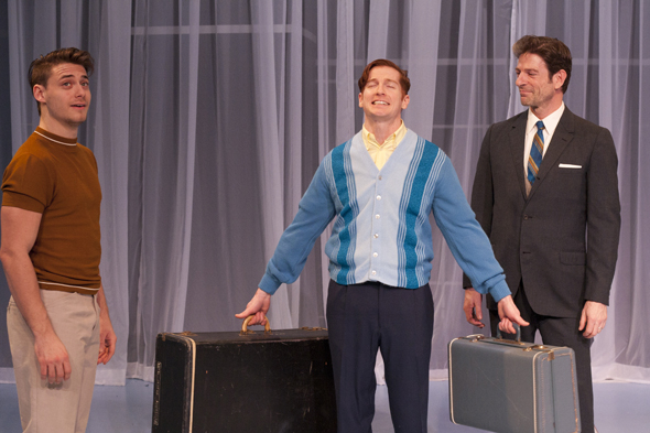 <p>The boys have arrived — <em>Nothing But Trash</em> is unpacking tonight for their run at Theater For The New City through March 23!</p><br />(© David Errigo, Jr.)