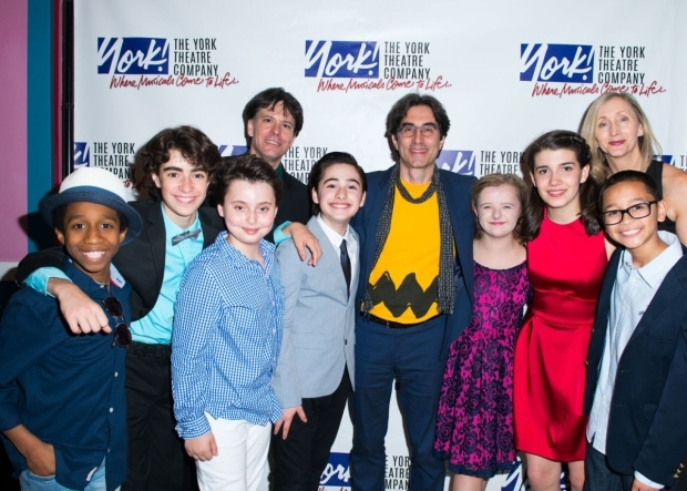 <p>The cast and creative team of <em>You&#39&#x3B;re a Good Man, Charlie Brown</em> celebrate their opening night.</p><br />(© Allison Stock)