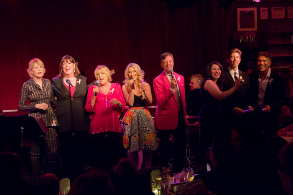 <p>The cast ends the night with &quot&#x3B;I Made It Through the Rain.&quot&#x3B;</p><br />(© Seth Walters)