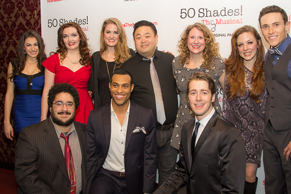 <p>The cast of <em>50 Shades! The Musical</em>.</p><br />(© Seth Walters)
