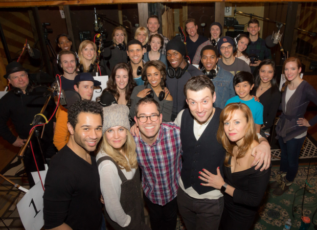 <p>The cast of Broadway&#39&#x3B;s <em>Holiday Inn</em>.</p><br />(© Seth Walters)