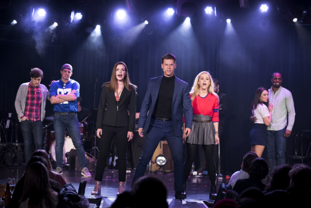 <p>The cast of <em>Cruel Intentions: The Musical</em>, in performance at (Le) Poisson Rouge through February 14.</p><br />(© Jenny Anderson)