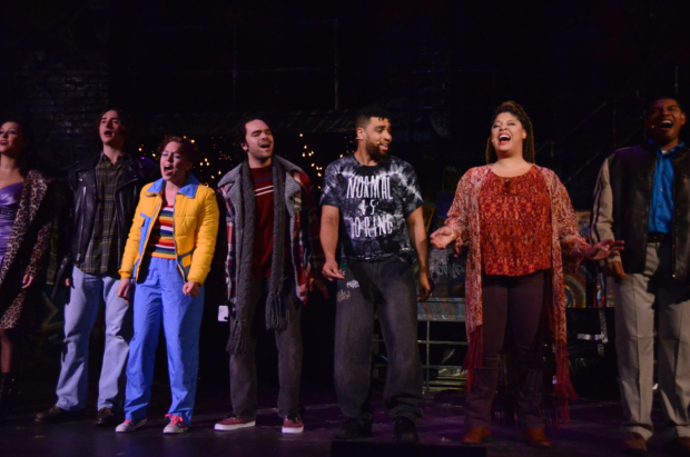 <p>The cast of Harbor Light&#39&#x3B;s <em>Rent</em> at Staten Island&#39&#x3B;s Snug Harbor Cultural Center.</p><br />(© Bob Johnson/Bitten by a Zebra Photography)