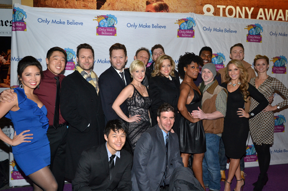 <p>The cast of <em>Honeymoon in Vegas</em> was on hand to perform at the gala.</p><br />(© David Gordon)