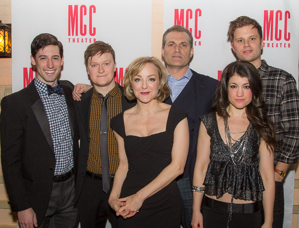 <p>The cast of MCC Theater&#39&#x3B;s <em>Hand to God</em>.</p><br />(© Seth Walters)