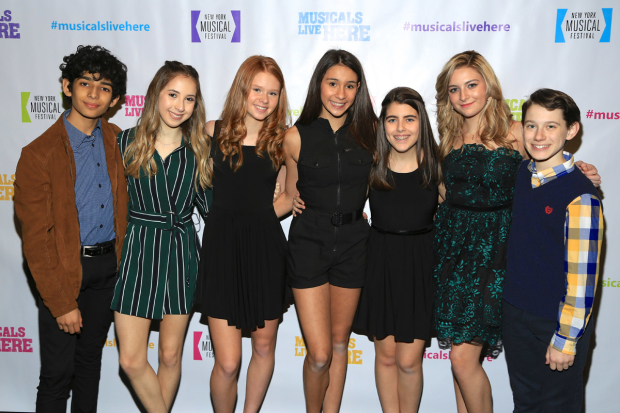 <p>The cast of NYMF&#39&#x3B;s &#39&#x3B;&#39&#x3B;Peace, Love, and Cupcakes: The Musical&quot&#x3B; reunite.</p><br />(© Tricia Baron)