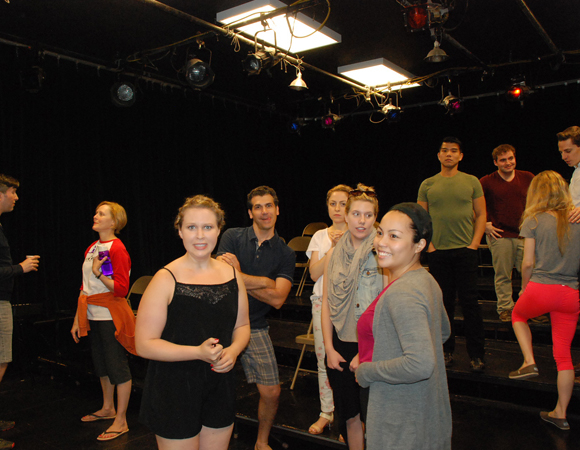<p>The cast prepares for a last-minute rehearsal. It&#39&#x3B;s never too late to make the show better.</p>