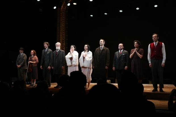 <p>The cast takes a bow.</p><br />(© Tricia Baron)