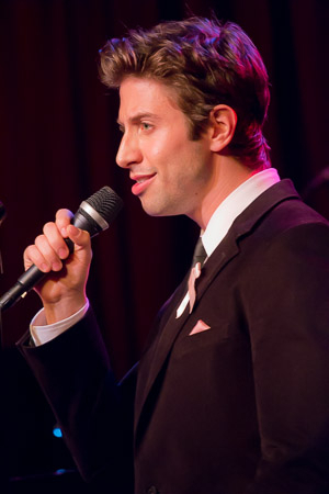<p>The charming Nick Adams sings &quot&#x3B;Luck Be a Lady.&quot&#x3B;</p><br />(© Seth Walters)
