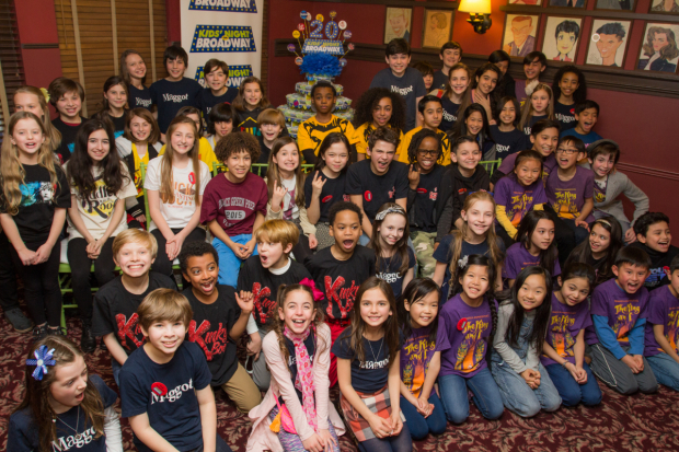 <p>The children of Broadway come together to celebrate Kids&#39&#x3B; Night.</p><br />(© Seth Walters)