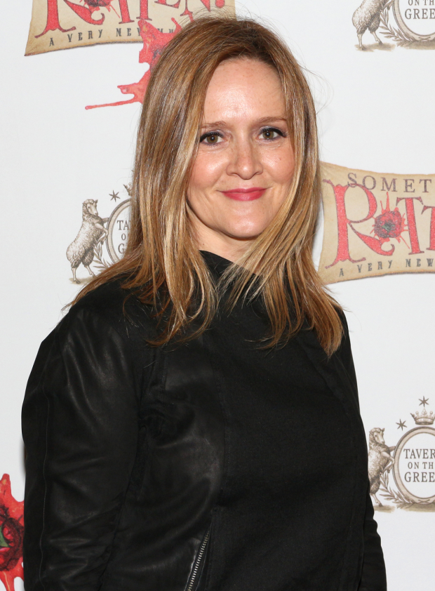 <p><em>The Daily Show</em>&#39&#x3B;s Samantha Bee is about to get <em>Rotten</em> on Broadway.</p><br />(© David Gordon)