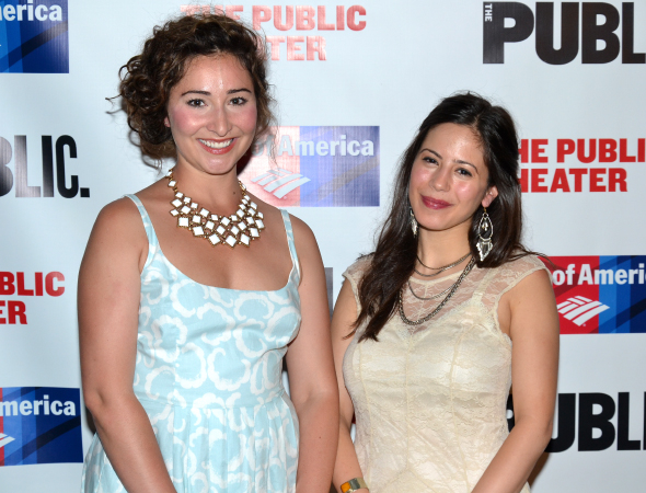 <p>The ensemble&#39&#x3B;s ladies include Carisa Cotera and Isabella Curti.</p><br />(© David Gordon)