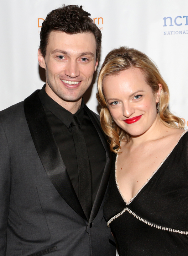 <p>The evening was emceed by <em>The Heidi Chronicles</em> stars Bryce Pinkham and Elisabeth Moss.</p><br />(© David Gordon)