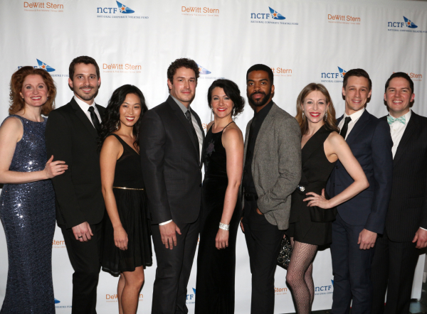 <p>The evening&#39&#x3B;s performers: Christiane Noll, Daniel Lincoln, EJ Zimmerman, Andrew Brewer, Natalie Charle Ellis, Julius Thomas III, Robin Levine, Jason Michael Snow, and Kevin Duda.</p><br />(© David Gordon)