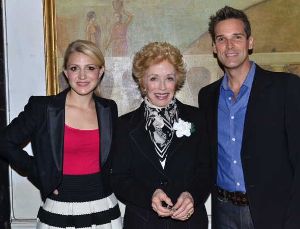 <p>The event was hosted by 2013 Tony nominee Holland Taylor, with performers including Annaleigh Ashford (left) and Hugh Panaro (right).</p><br />© (David Gordon)