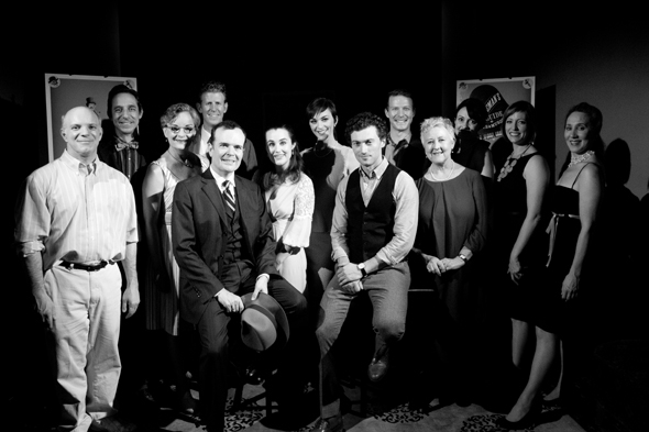 <p>The full cast of <em>A Gentleman&#39&#x3B;s Guide to Love and Murder</em>.</p><br />(© David Gordon)