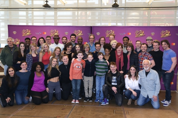 <p>The full cast of <em>Charlie and the Chocolate Factory</em> is ready to take Broadway!</p><br />(© Tricia Baron)