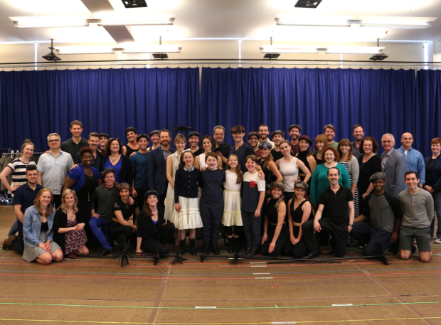 <p>The full company of <em>Mary Poppins</em>.</p><br />(&copy&#x3B; David Gordon)