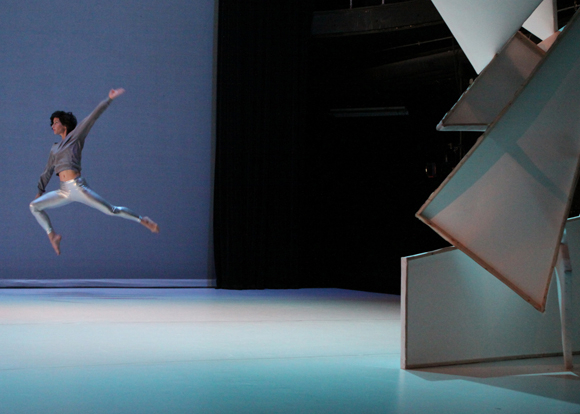 <p><em>The Futurist</em> by Laura Peterson Choreography, playing February 5 and 6. </p><br />(© Steven Schreiber)