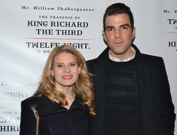 <p><em>The Glass Menagerie</em> stars Celia Keenan-Bolger and Zachary Quinto were each other&#39&#x3B;s dates for the event.</p><br />(© David Gordon)