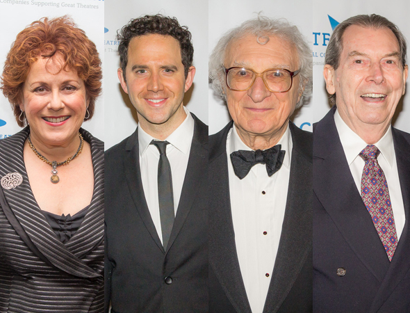 <p>The guest list at the Pierre also boasted Judy Kaye, Santino Fontana, Sheldon Harnick, and Richard Easton.</p><br />(© Seth Walters)
