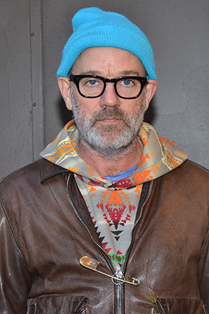 <p>The guest list included Michael Stipe, lead vocalist of the band R.E.M.</p><br />(© David Gordon)