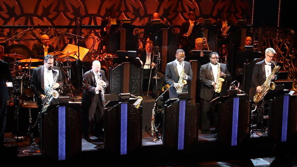 <p>The Jazz at Lincoln Center All-Stars.</p><br />(© Seth Walters)