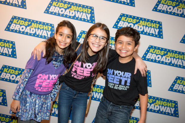 <p>The kid stars of <em>On Your Feet!</em> had a blast.</p><br />(© Jeremy Daniel)
