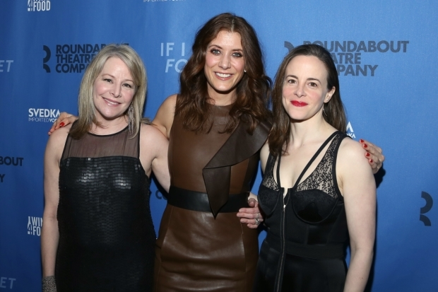 <p>The leading ladies of <em>If I Forget</em>: Tasha Lawrence, Kate Walsh, and Maria Dizzia.</p><br />(© Tricia Baron)