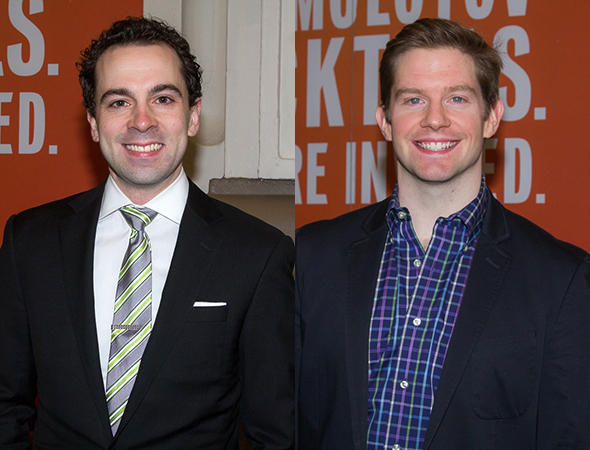 <p>The list of Tony nominees in the house included Rob McClure and Rory O&#39&#x3B;Malley.</p><br />(© Seth Walters)