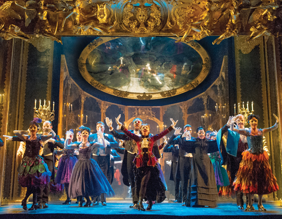 <p>The North American touring company of <em>The Phantom of the Opera</em>, directed by Laurence Connor.</p><br />(© Alastair Muir)
