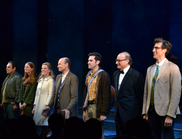 <p>The opening-night curtain call at Playwrights Horizons.</p><br />(© David Gordon)