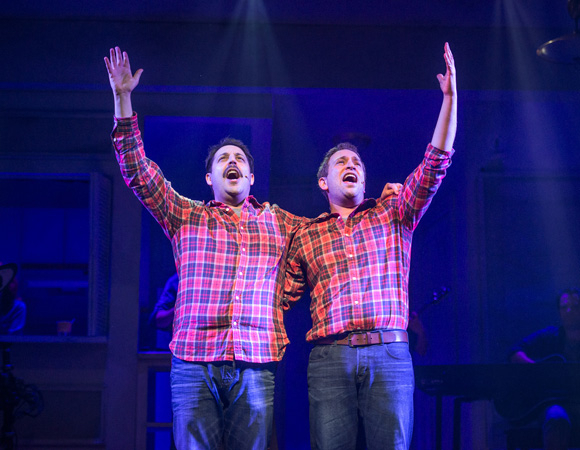 <p><em>The Other Josh Cohen</em> celebrates opening night this evening at Paper Mill Playhouse. The show will run through March 16.</p><br />(© Billy Bustamante)
