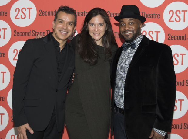 <p>The production is directed by Tony winner Diane Paulus and choreographed by Sergio Trujillo (left) and Darrell Grand Moultrie (right).</p><br />(© Allison Stock)