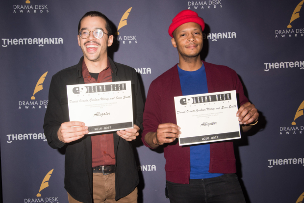 <p>The proud nominees for <em>Alligator</em>.</p><br />(© Monica Simoes)
